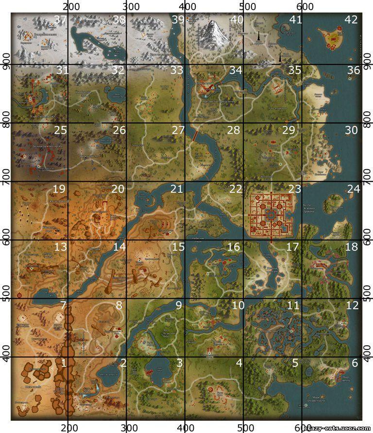 карта пв
